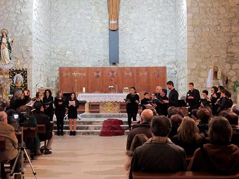 Música sacra en la antesala de la Semana Santa de Villacañas