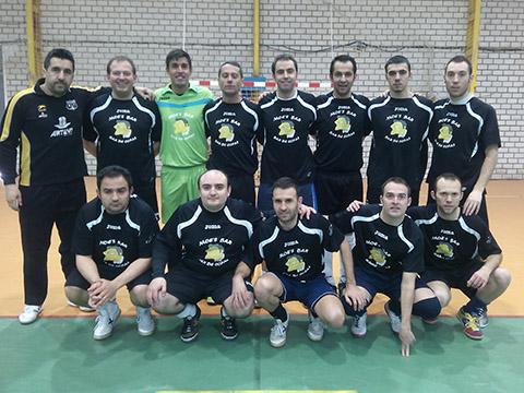 Bar El Pozero, campeón de la Liga Local de Fútbol Sala