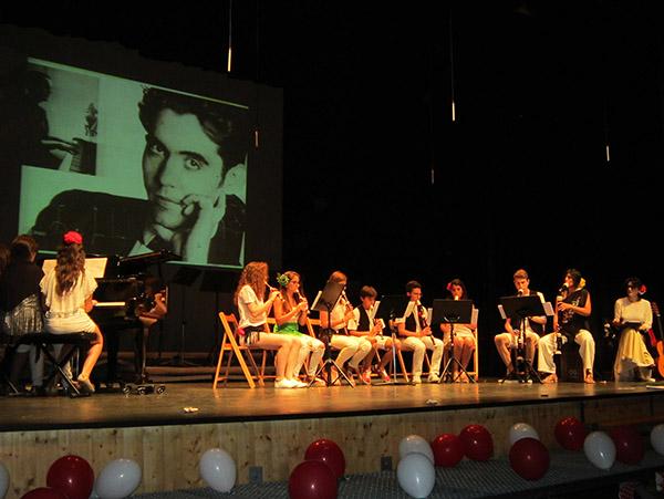 Música española para cerrar el curso en la Escuela Municipal de Música