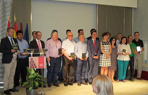 """El rosado Espanillo, de San Antonio Abad, recibe el Quijote de Plata en el VII Concurso Regional de Vinos """"Tierra del Quijote"""""""