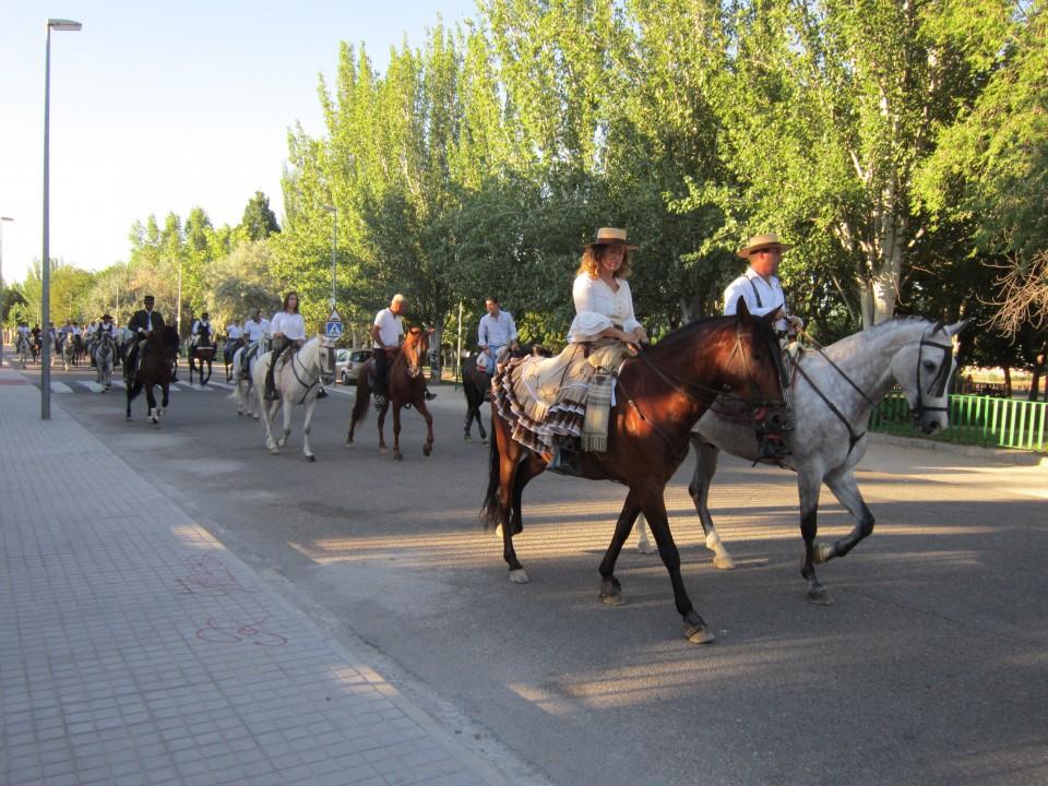 Caballos y carruajes recorrieron las calles de Villacañas