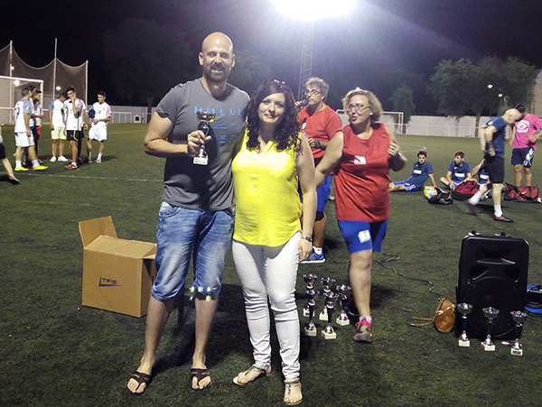 La Moderna, ganadores de la Liga de Verano de Fútbol 7