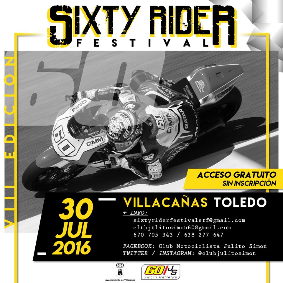 El sábado vuelve a Villacañas la pasión por las motos con el Sixty Rider Festival