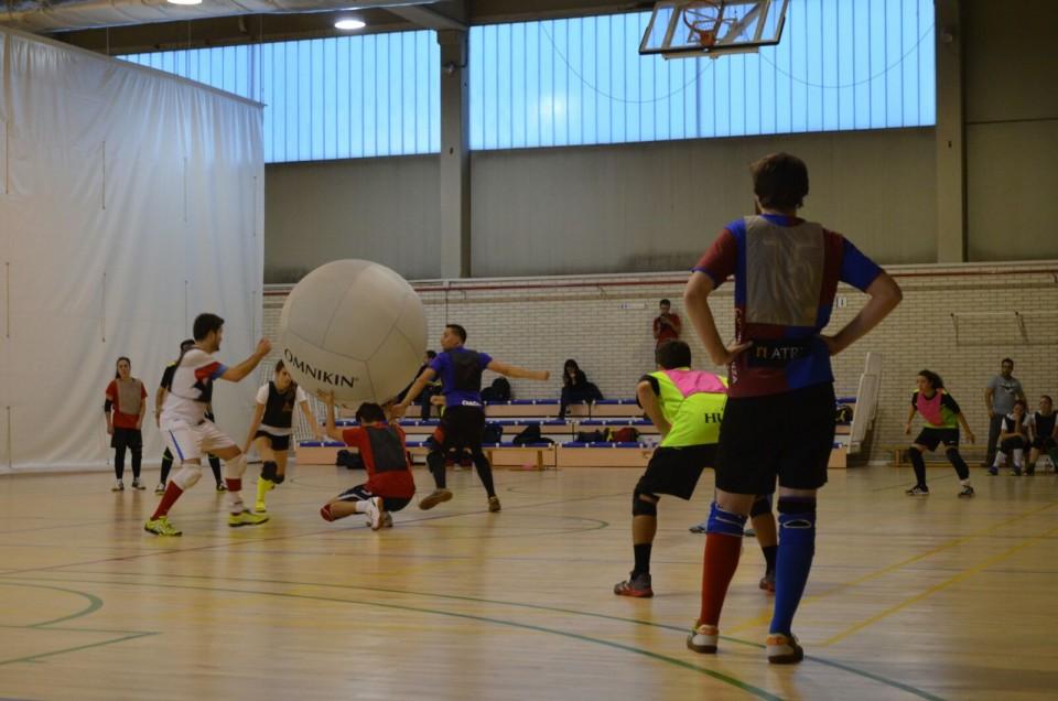 Un equipo villacañero compite en la Liga Provincial de Madrid de Kinball