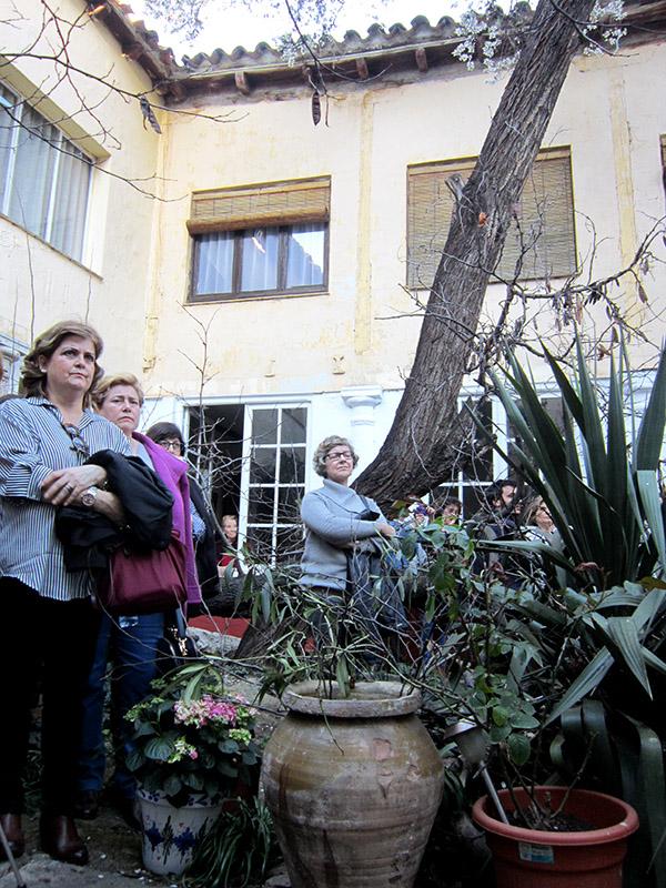 Dos patios manchegos se llenaron de cultura para conmemorar el Día Internacional de la Mujer
