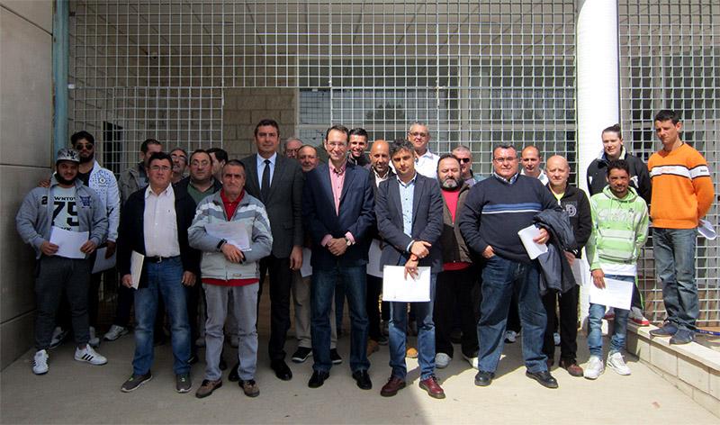 Una treintena de vecinos consiguen la Tarjeta Profesional de la Construcción gracias a un curso impartido por AECA Toledo