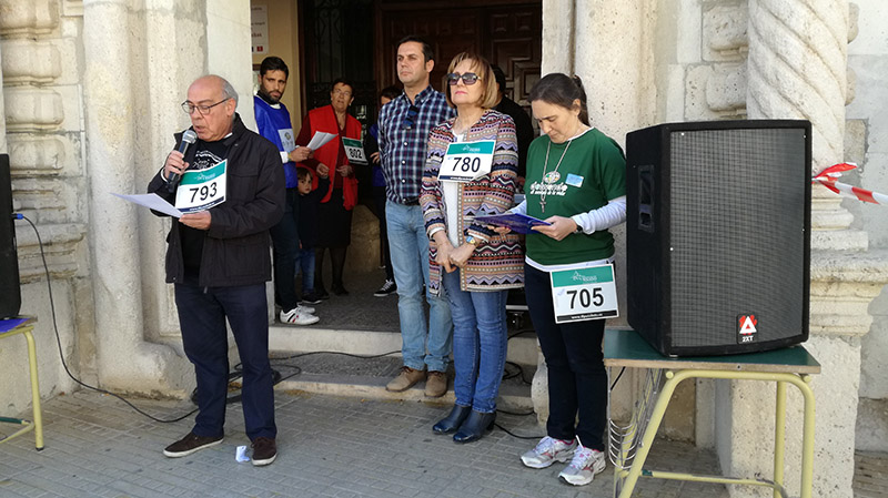 Marcha solidaria por los refugiados del conflicto sirio