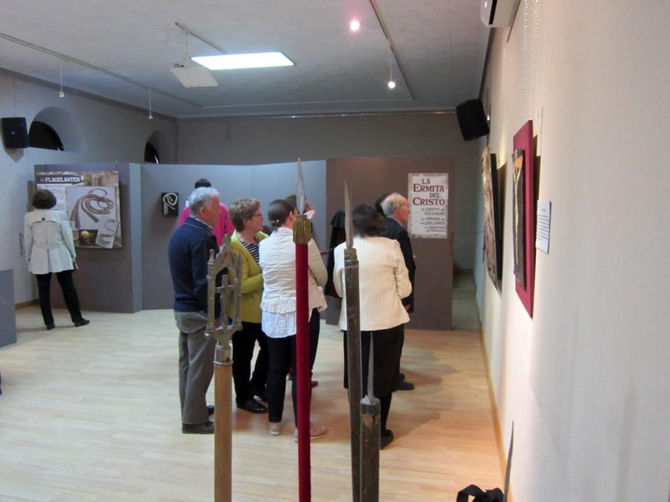 Exposición para Semana Santa sobre la ermita del Cristo y sus ritos a lo largo de la historia