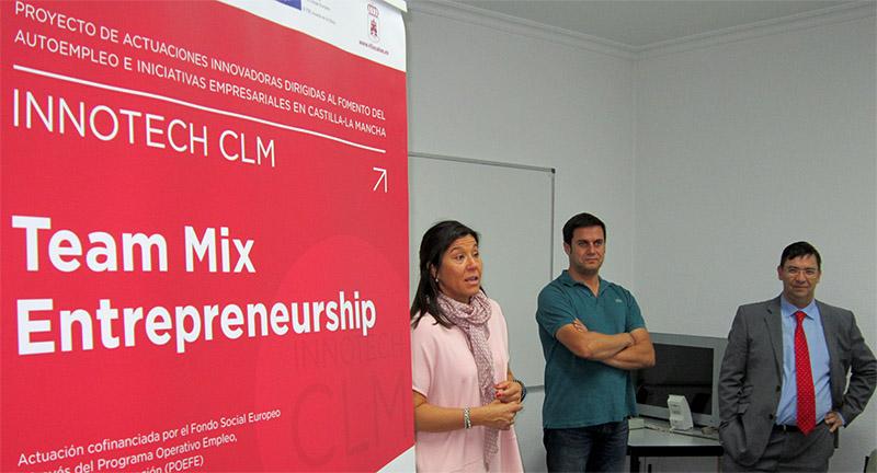 Comienza en Villacañas el Programa Emprendedores Team Mix