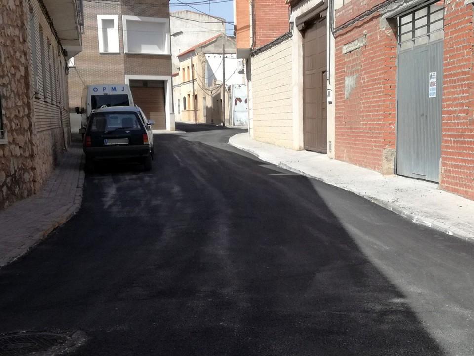 Las previsiones meteorológicas aconsejan retrasar los últimos trabajos de reposición de asfalto