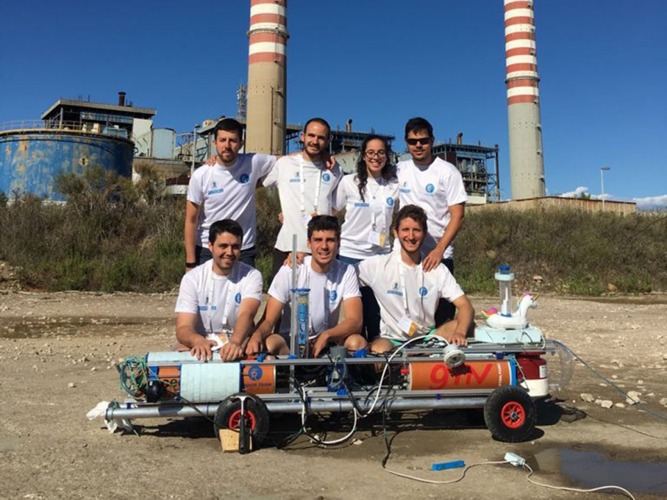 Segundo puesto para el Robdos Team en la European Robotic League (ERL) Emergency
