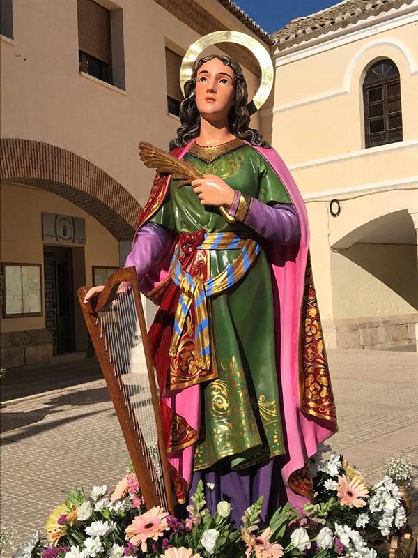 Los músicos de Villacañas han celebrado la fiesta de Santa Cecilia