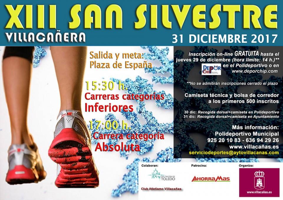 Abierta la inscripción de la San Silvestre, cita destacada del programa deportivo navideño en Villacañas