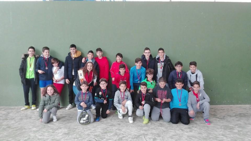 Celebrados los torneos de Navidad de Ajedrez y Padel Infantil