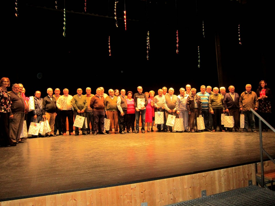 Los mayores de Villacañas celebran por todo lo alto la Navidad