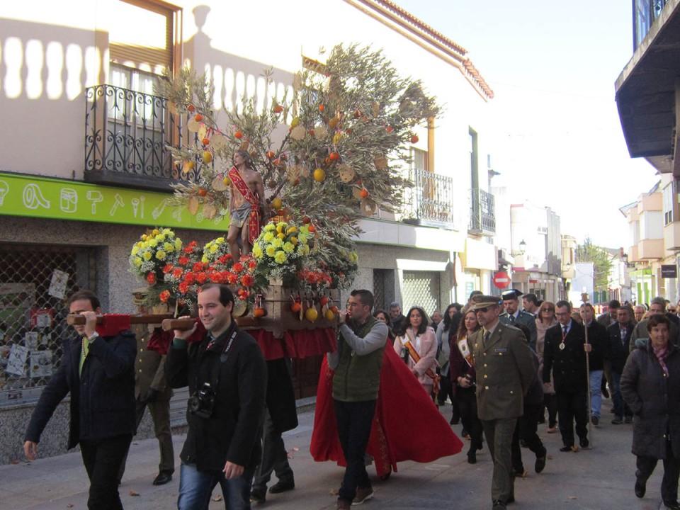 La fiesta de San Sebastián cerró el fin de semana de Santos Viejos