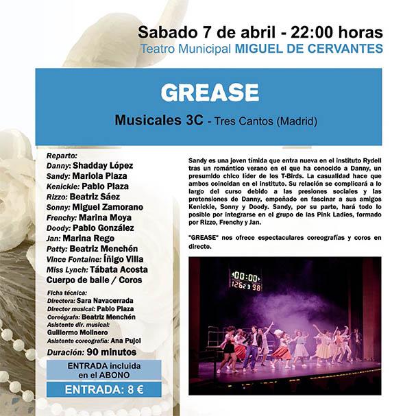 """Un musical, """"Grease"""", para arrancar este sábado el motor del 43º Festival de Teatro Aficionado"""