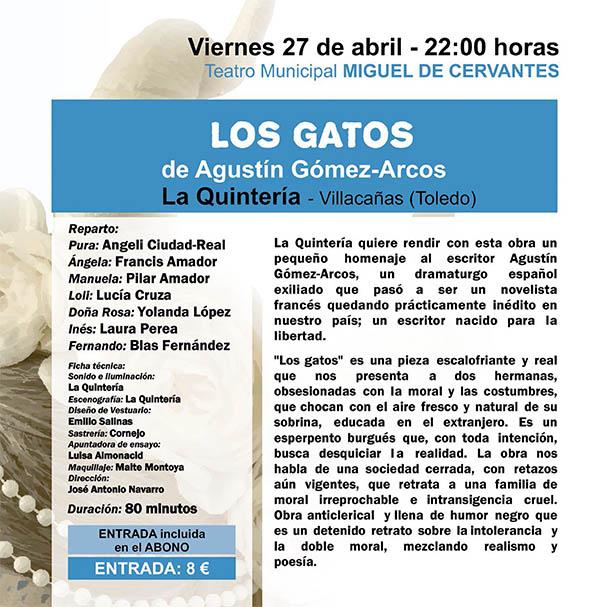 """""""La Quintería"""" regresa mañana al Festival de Teatro Aficionado"""