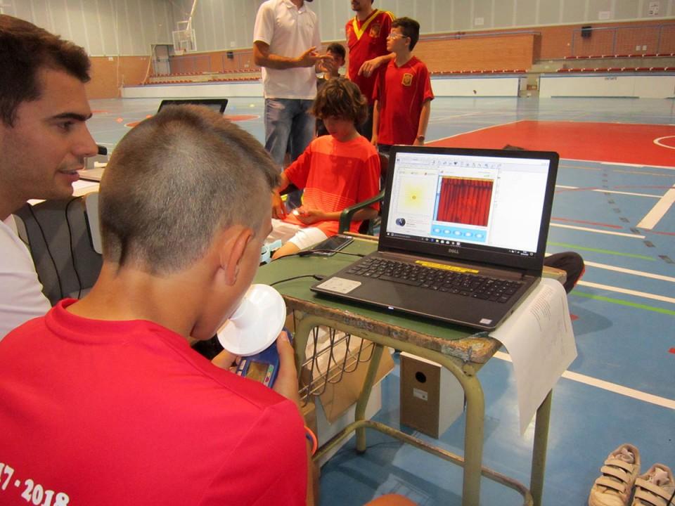 Comenzaron las pruebas físicas y de salud a alumnos de Escuelas Deportivas