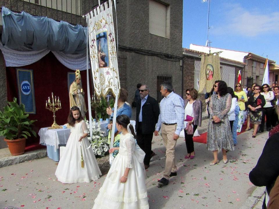 La Octava cerró ayer la celebración del Corpus en Villacañas