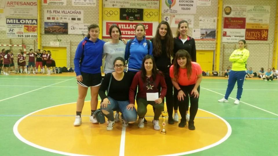 Celebrado con éxito el I Maratón de Fútbol Sala Femenino de Villacañas