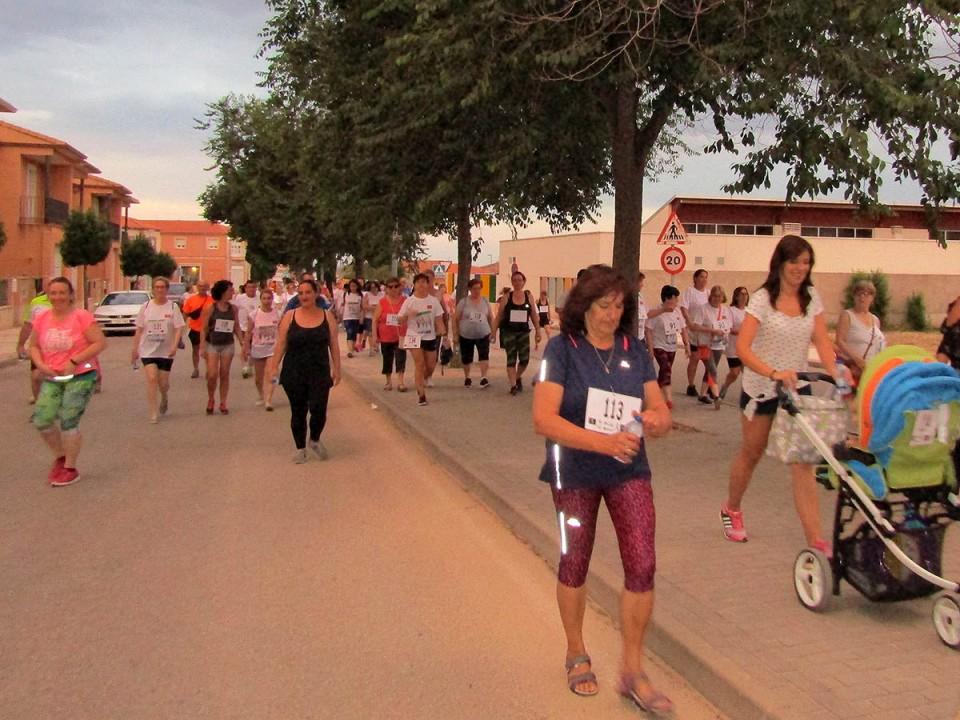 Más de 200 personas disfrutaron del paseo con el Maratón de Andarines