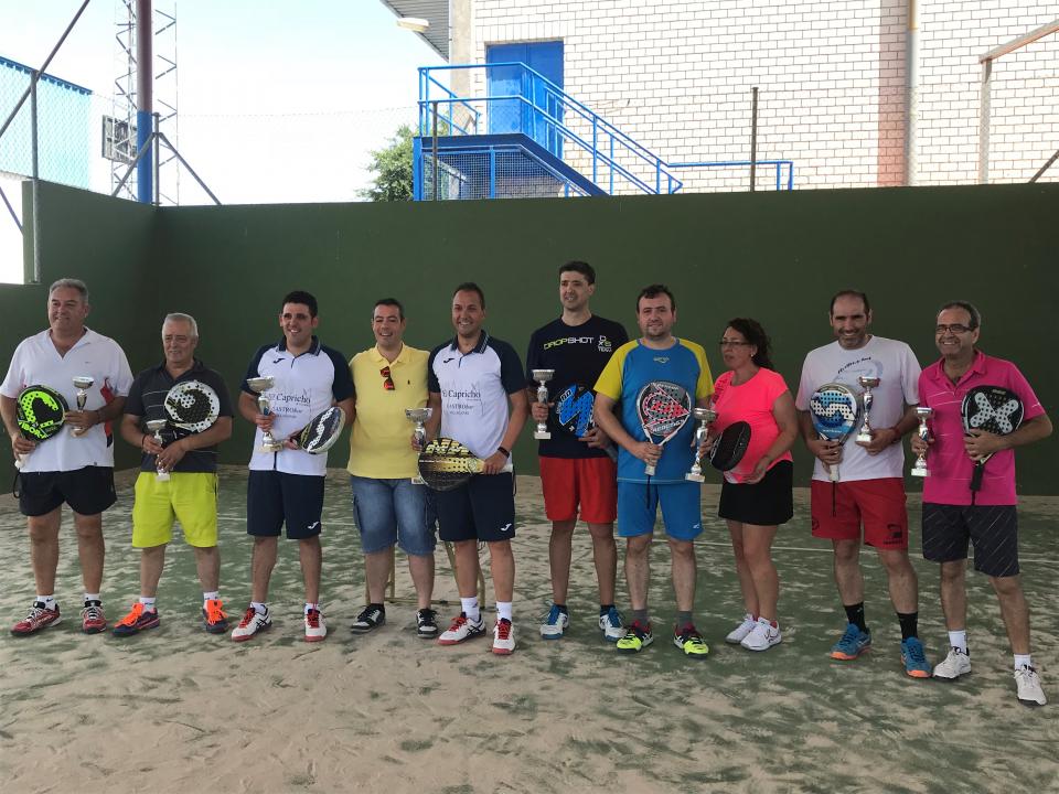 Disputada la fase final del Ranking de Pádel y el Torneo de Feria de Petanca