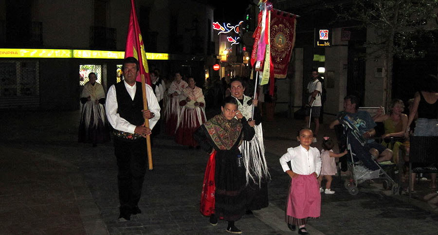 La ACFR Manuel de Falla celebró por todo lo alto los 40 años de festivales de folklore de Feria