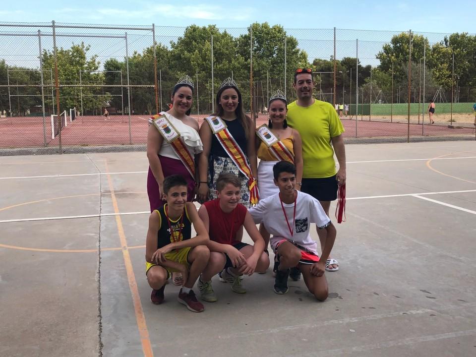 Celebrados los Torneos de Tenis y Baloncesto 3x3 de la Preferia villacañera