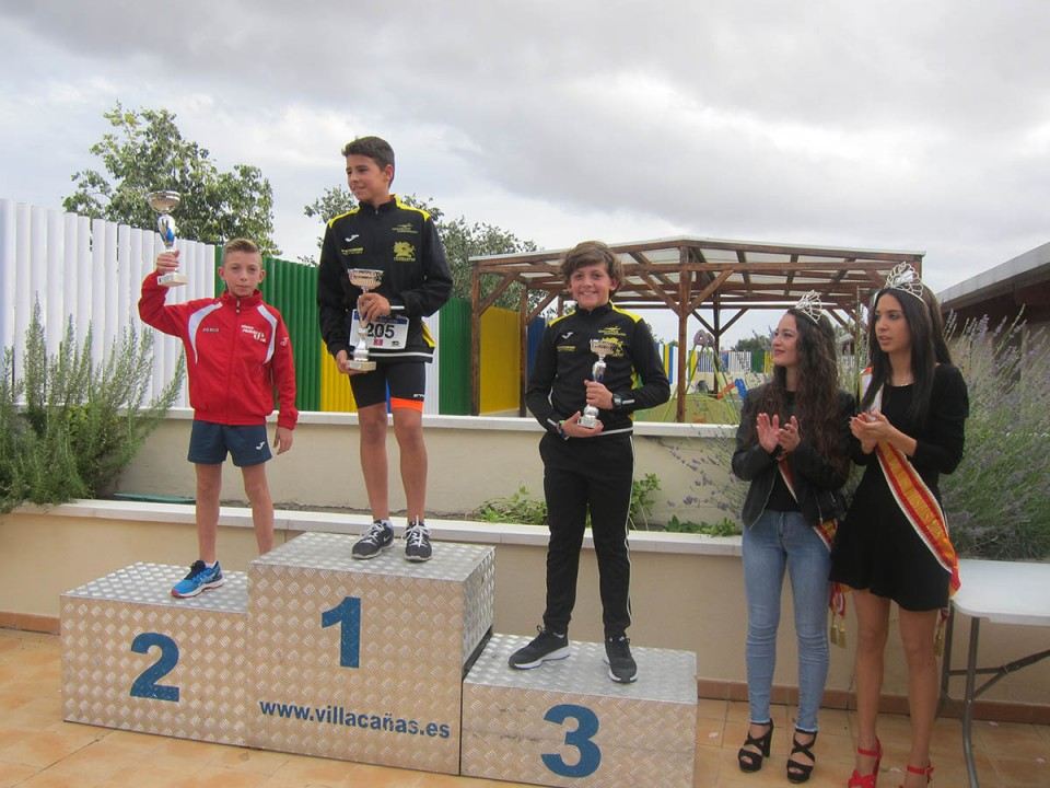 140 participantes en el 6ª Duatlón Cros de Villacañas celebrado el pasado sábado