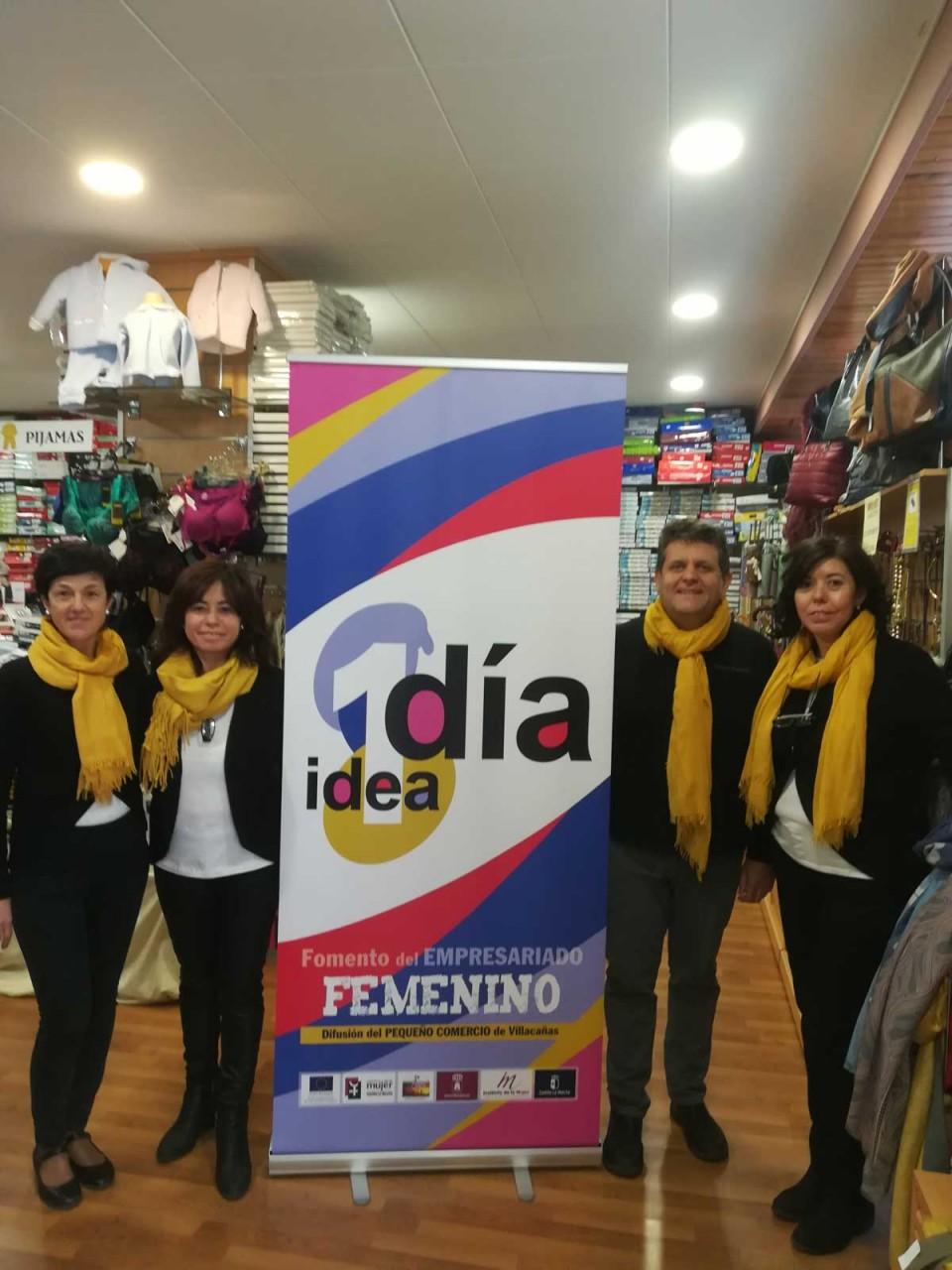 """Ya está en marcha la campaña del comercio """"1 Día, 1 Idea"""""""