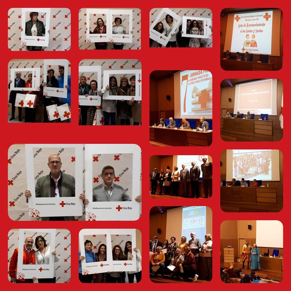 La Asamblea de Cruz Roja Villacañas recibió un reconocimiento en el marco de las VII Jornadas de Buenas Prácticas organizadas por la Oficina Provincial de Cruz Roja Española