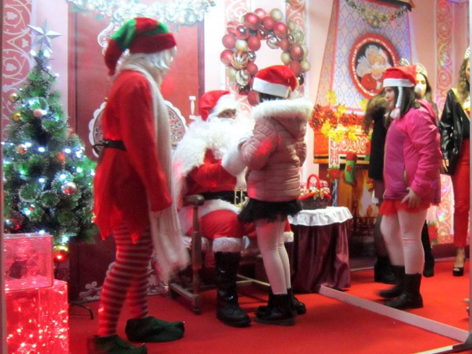 Hoy, Bajada al Portal y Ofertorio, tras un fin de semana protagonizado por Papá Noel