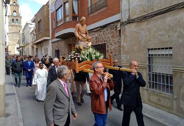 Villacañas celebró ayer San José, patrón de los carpinteros