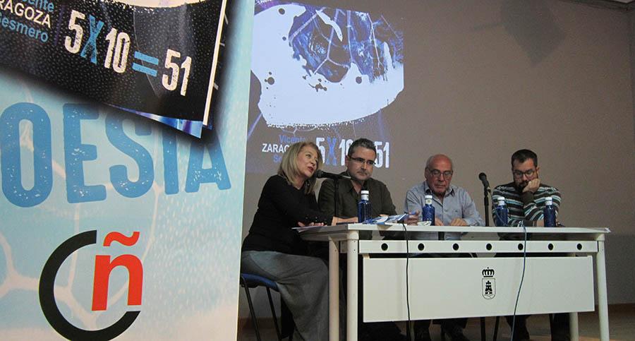 """Presentado el poemario ilustrado """"5x10=51"""" de Vicente Zaragoza"""
