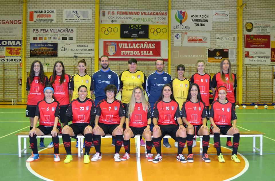 El Villacañas F.S. Femenino, a seguir con el sueño del ascenso