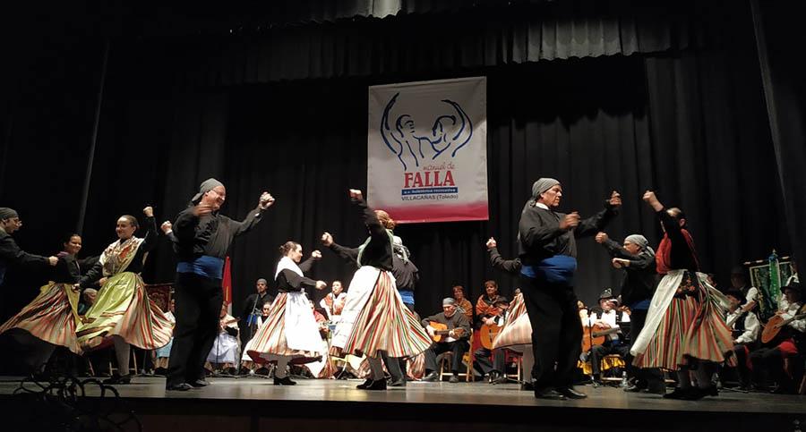 Gran espectáculo de folklore para cerrar las actividades festivas de San Isidro en Villacañas
