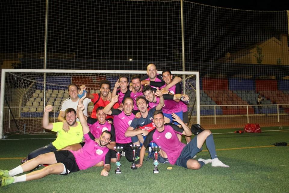 M&G Motor/Bar El Polígono ganó la Liga de Verano de Fútbol 7
