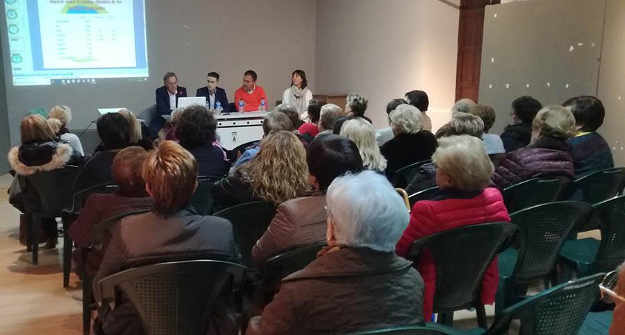 Interesantes conferencias sobre medio ambiente en la Semana Cultural de las Amas de Hogar
