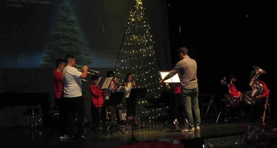 """Concierto de Navidad de la Escuela Municipal de Música """"Gratiniano Martínez"""""""