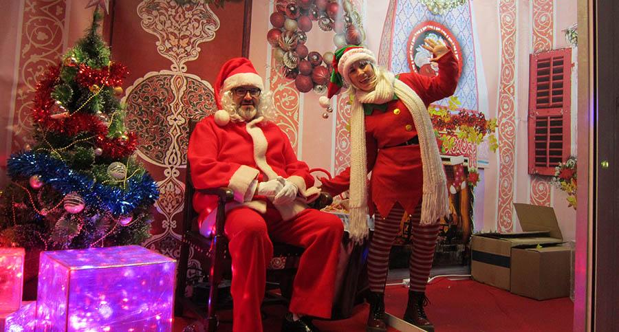 Papá Noel regresa esta tarde a su Casita de la plaza de España para recibir a los niños y niñas