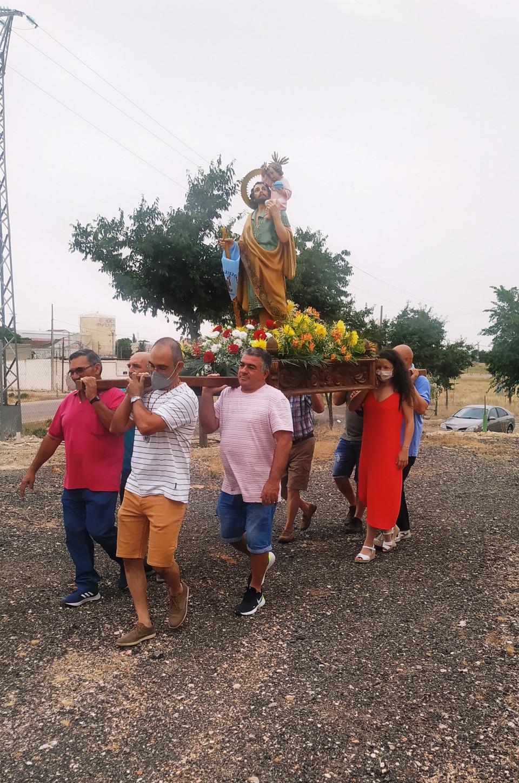La Hermandad de San Cristóbal ha celebrado este fin de semana su festividad