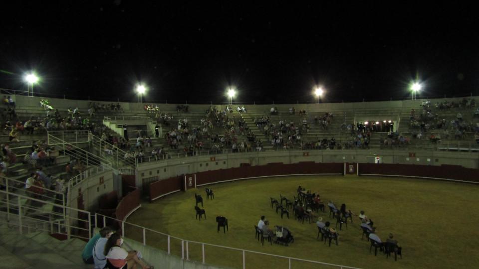 Triunfo de la Banda de Música de Villacañas en su Concierto de Feria celebrado en la plaza de toros
