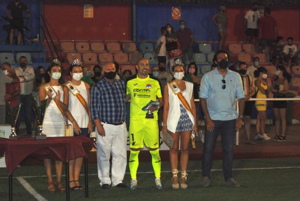 El CD Toledo se llevó el Torneo de Feria, que este año ha sido el I Trofeo Toribio Santos