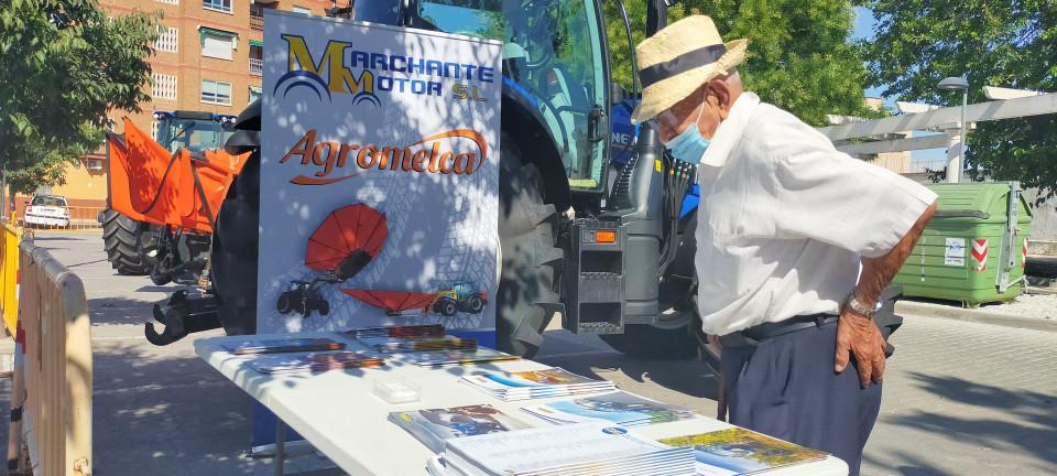 Celebrado el Día del Agricultor de la Feria con mucha actividad en la glorieta del Prado