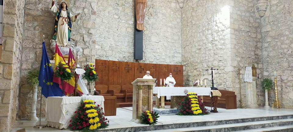Celebración de la Virgen del Pilar y el Día de la Hispanidad